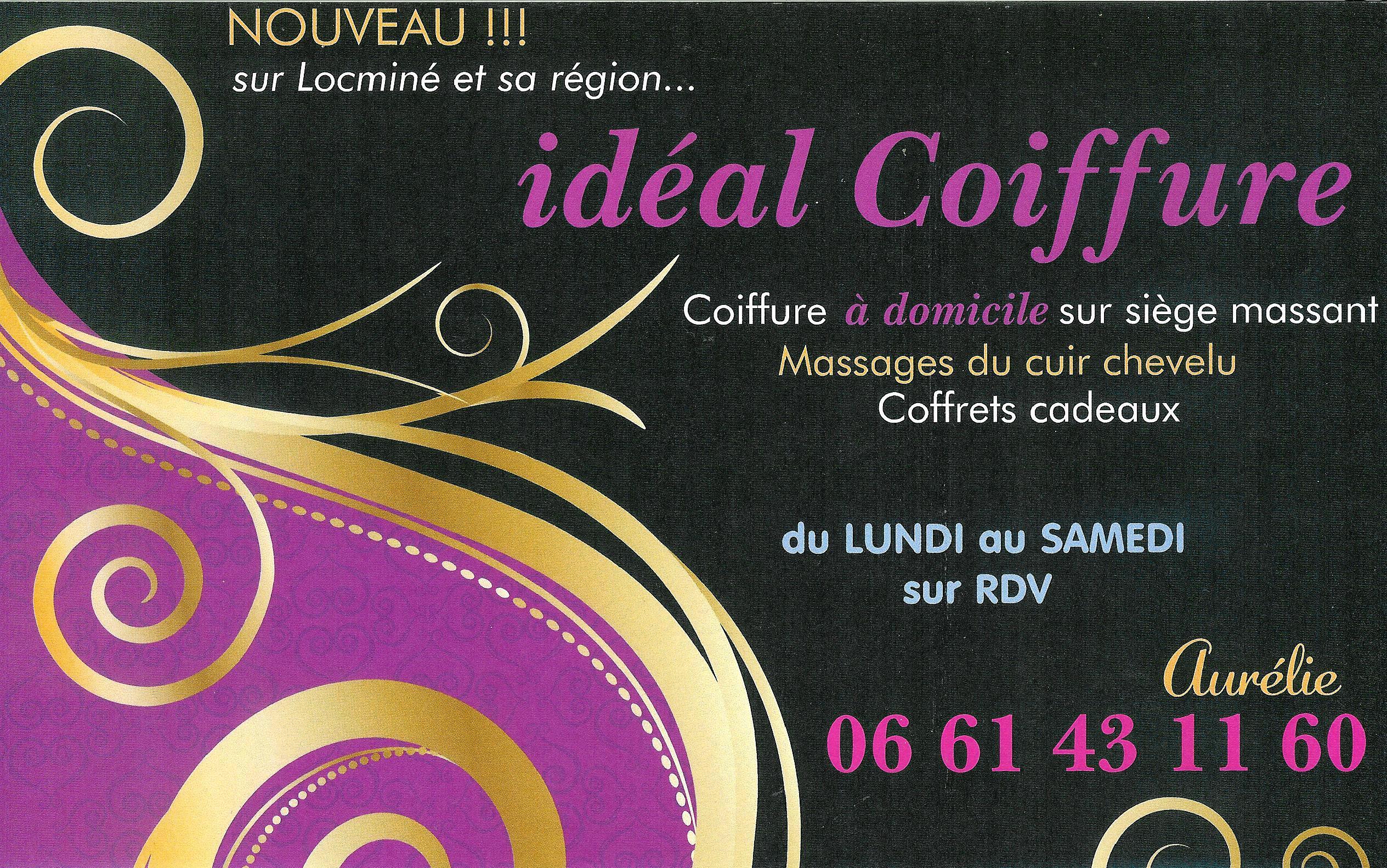 Audacieuse ideal coiffure flyer - Idéal Coiffure et Esthétique à Domicile WF-07
